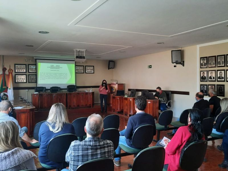 Foto de capa da notícia Lei de Diretrizes Orçamentárias (LDO) é tema de Audiência Pública na Câmara Municipal