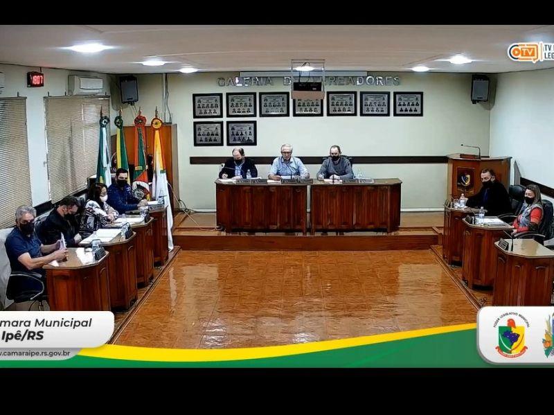 Foto de capa da notícia Resultado da Sessão Ordinária da Câmara de Vereadores - 31 de Agosto de 2021