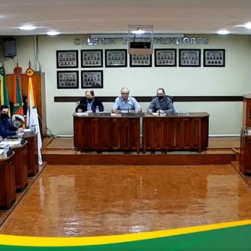 Foto de capa da notícia: Resultado da Sessão Ordinária da Câmara de Vereadores - 31 de Agosto de 2021