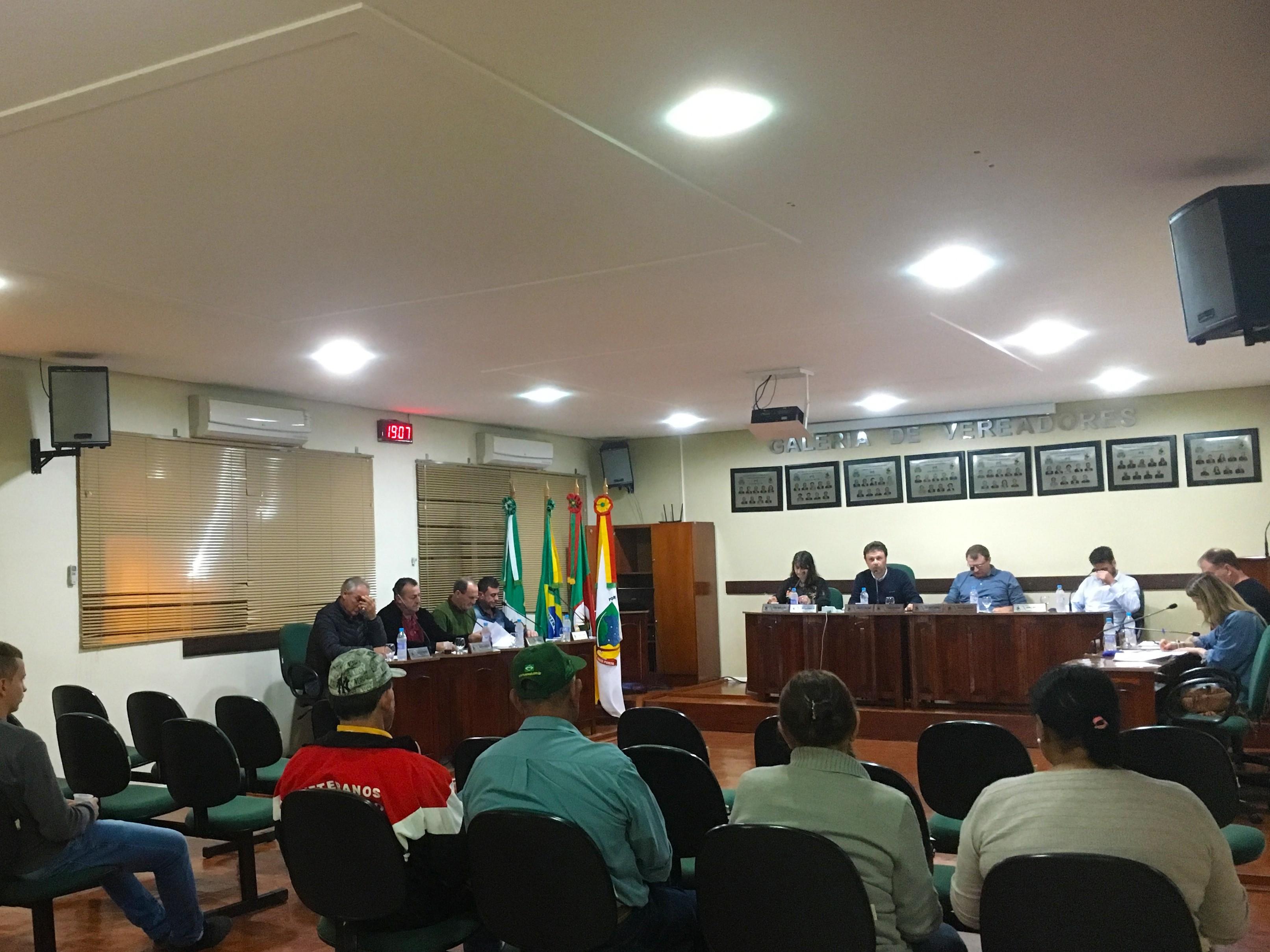 Foto de capa da notícia Confira agora como foi a Sessão Plenária Ordinária de ontem, 11 de junho de 2019, na Câmara de Vereadores de Ipê: