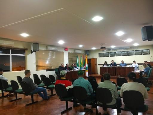 Foto de capa da notícia: Confira agora como foi a Sessão Plenária Ordinária de ontem, 11 de junho de 2019, na Câmara de Vereadores de Ipê: