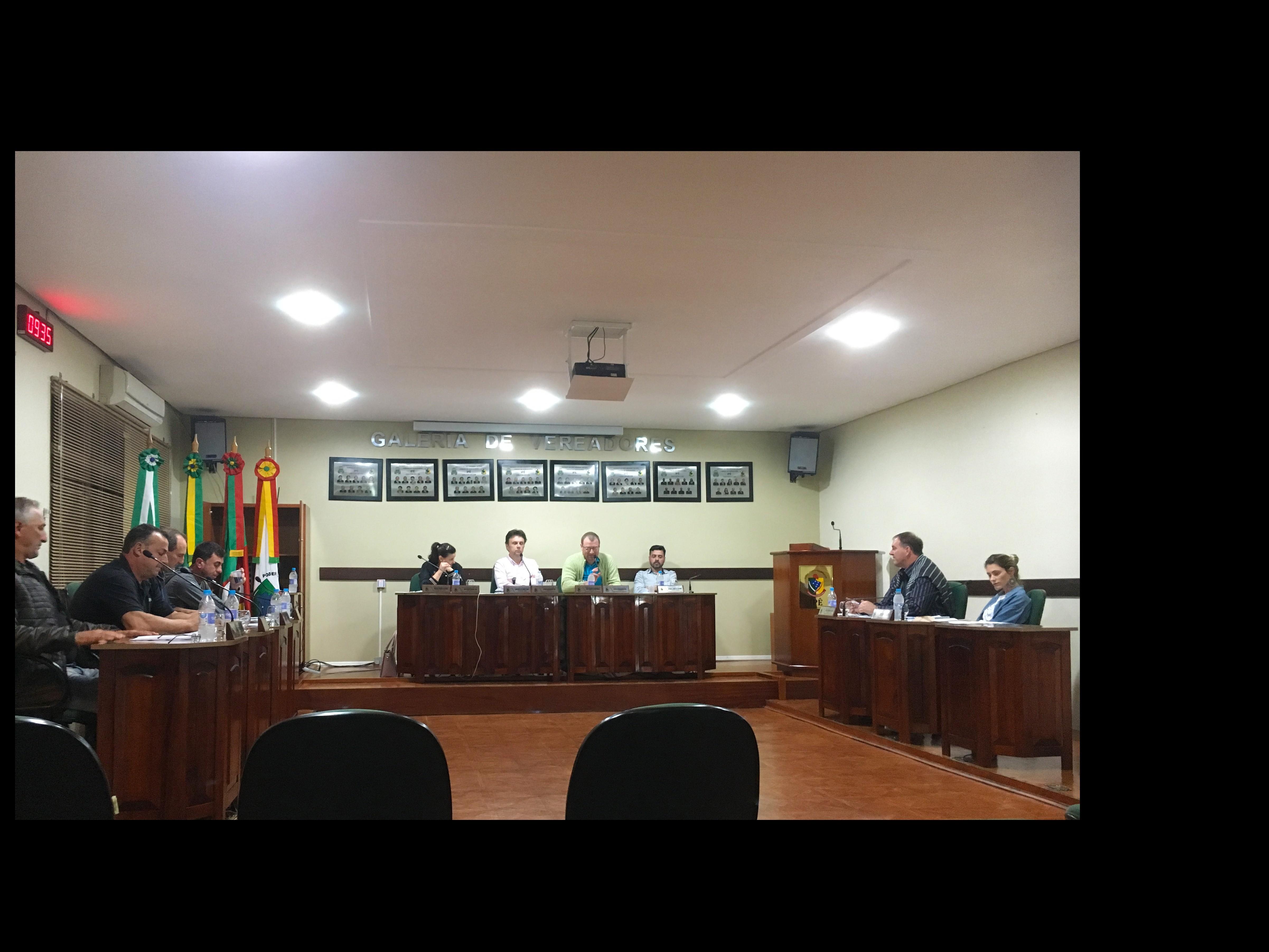 Foto de capa da notícia Confira agora como foi a Sessão Plenária Ordinária de ontem, 25 de junho de 2019, na Câmara de Vereadores de Ipê: