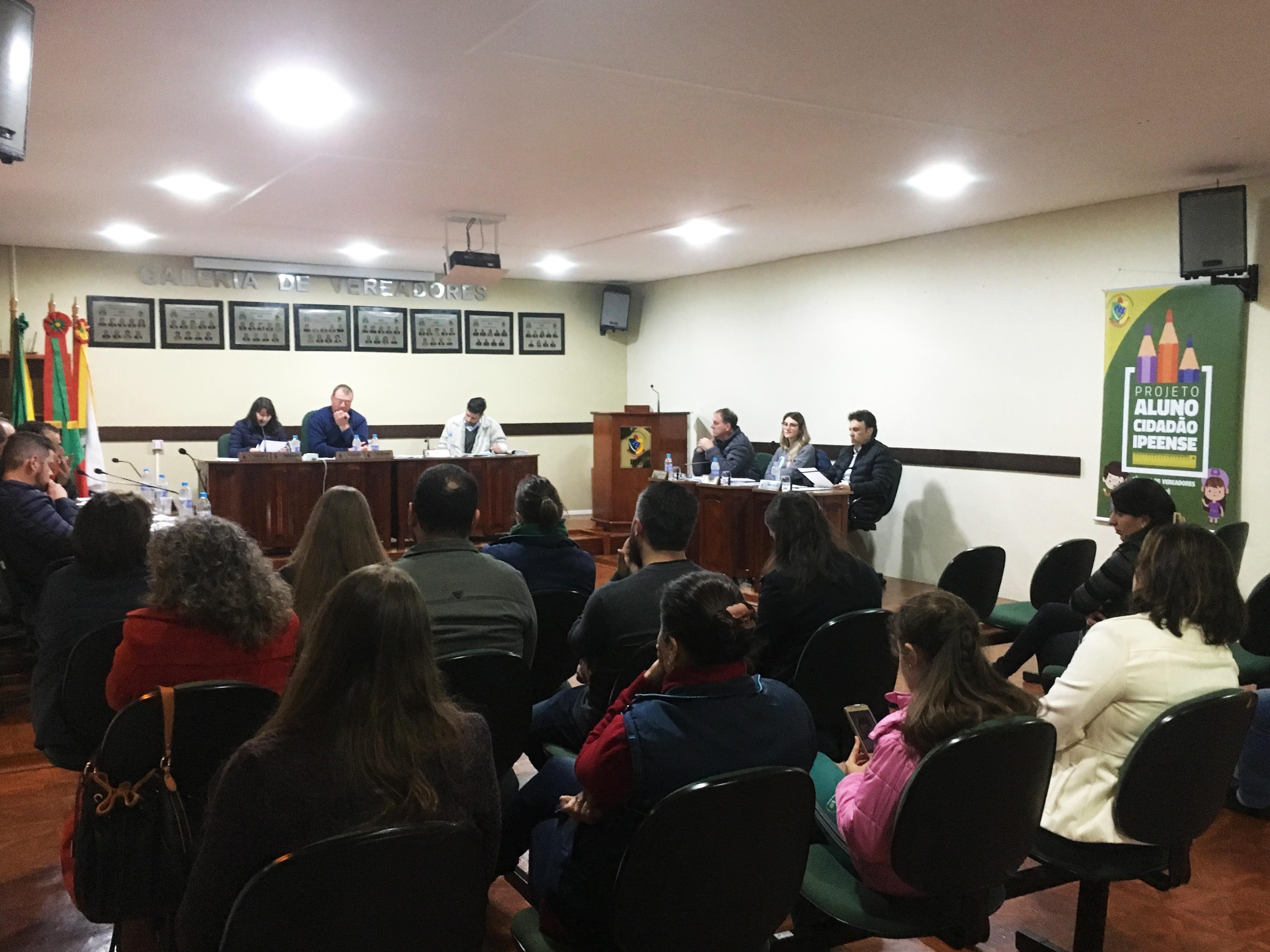 Foto de capa da notícia Confira agora como foi a Sessão Plenária Ordinária de ontem, 20 de agosto de 2019, da Câmara de Vereadores de Ipê: