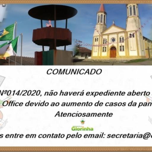 Foto de capa da notícia: Comunicado!!
