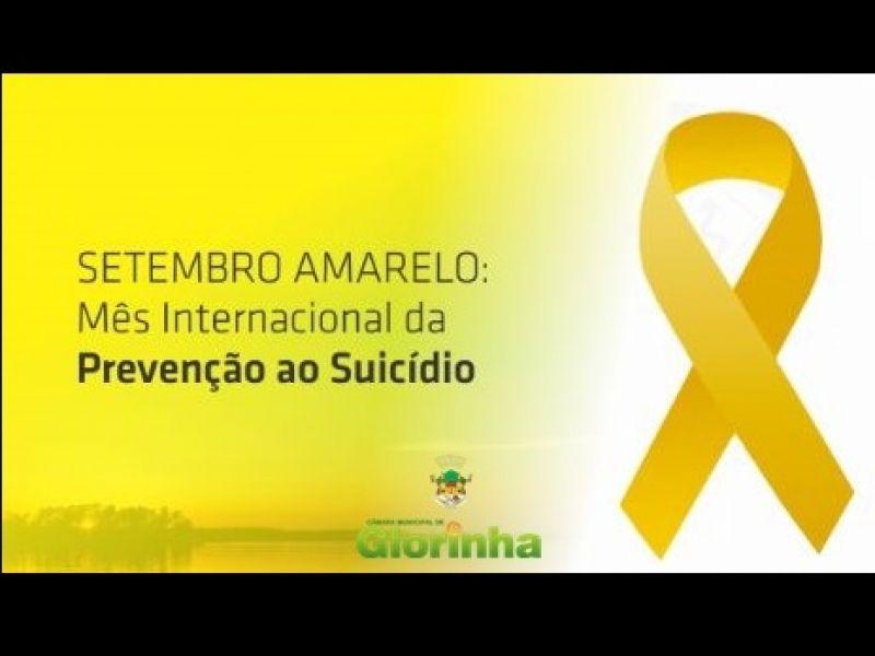 Foto de capa da notícia SETEMBRO AMARELO, MÊS DE PREVENÇÃO DO SUICÍDIO