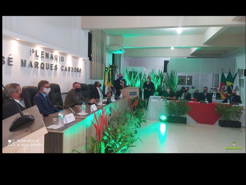Foto de capa da notícia Cerimônia de Posse