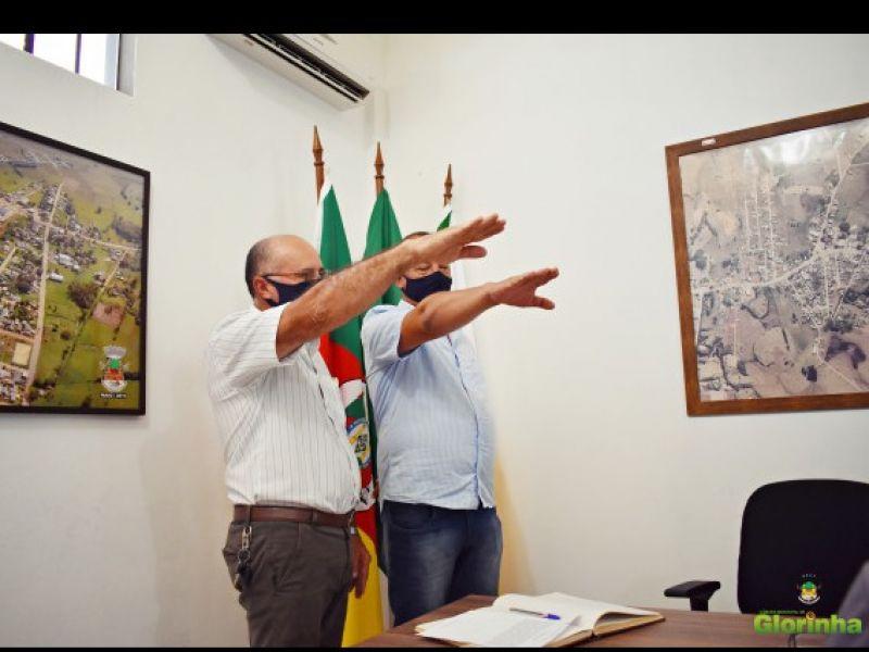 Foto de capa da notícia Vereador Suplente assume Cadeira na Câmara