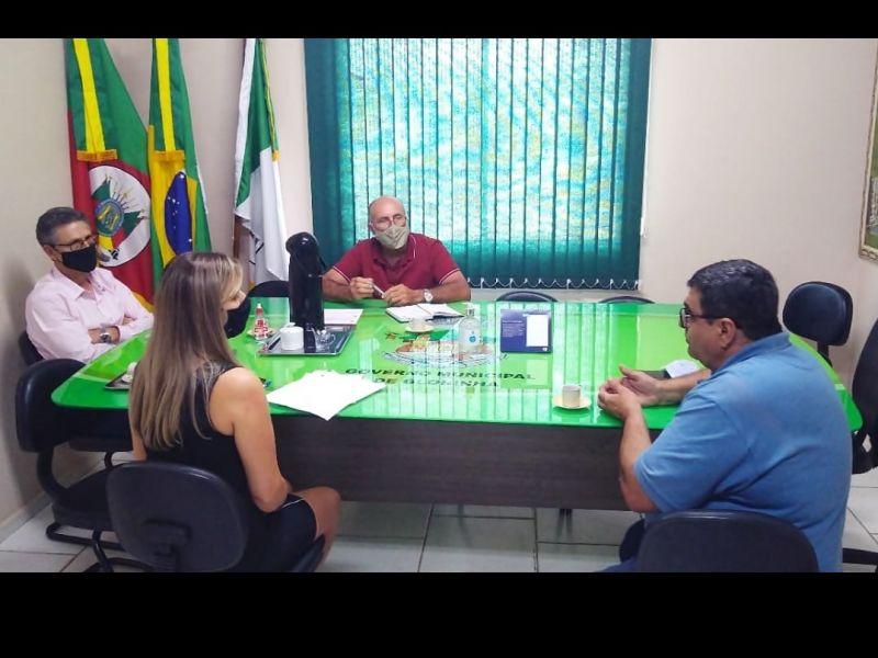 Foto de capa da notícia Presidente do Legislativo visita Prefeito