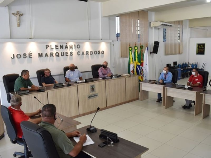 Foto de capa da notícia Reunião entre Vereadores e representantes da RGE