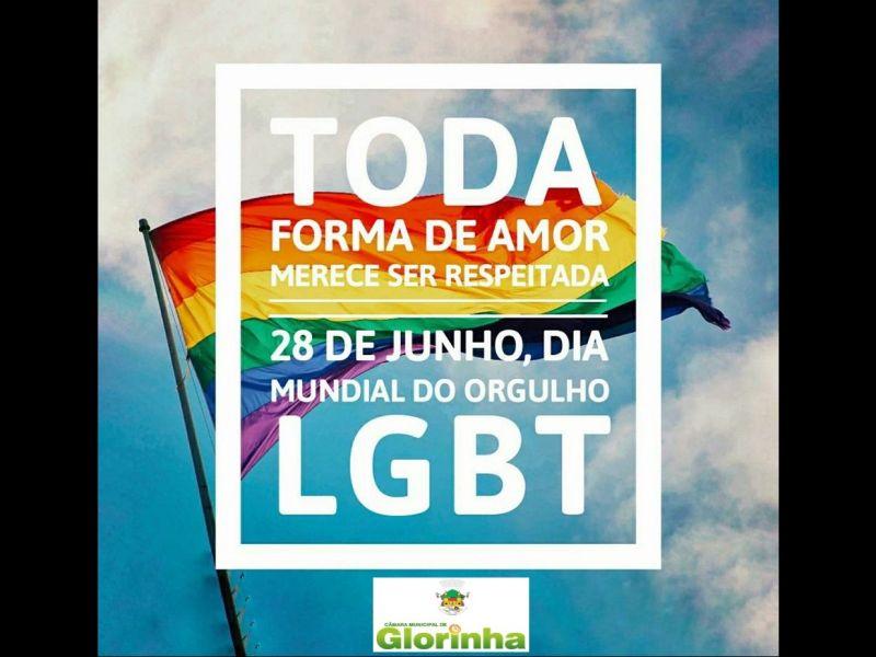 Foto de capa da notícia: DIA INTERNACIONAL DO ORGULHO LGBT