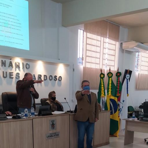Foto de capa da notícia: Vereador Suplente assume Cadeira na Câmara