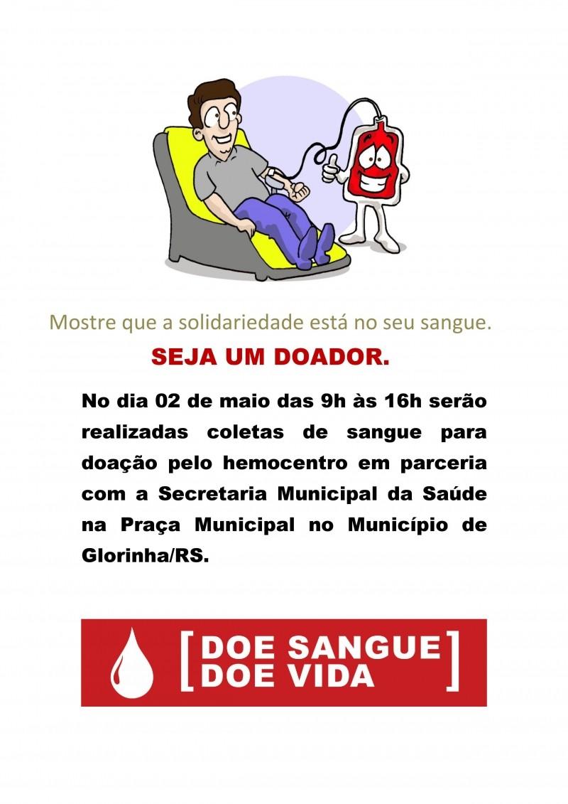 Foto de capa da notícia Doação de Sangue