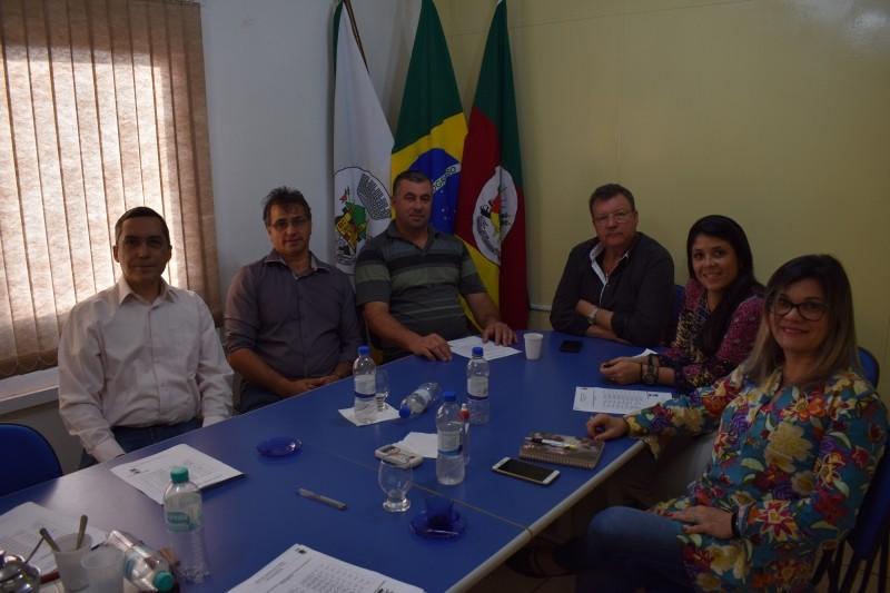 Foto de capa da notícia Vereadores se reúnem com Equipe Técnica do Plano Diretor do Município