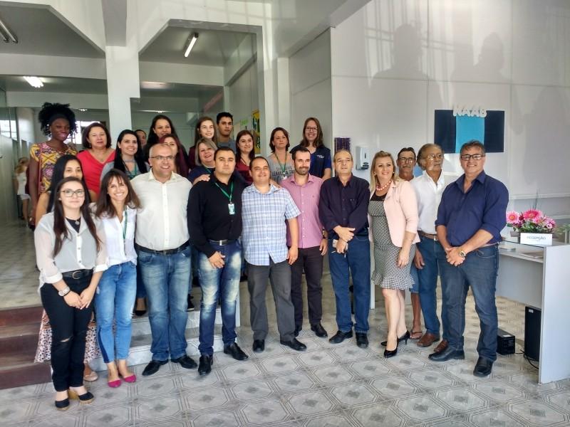 Foto de capa da notícia INAUGURAÇÃO DO NAAB-NÚCLEO DE APOIO E ATENÇÃO BÁSICA