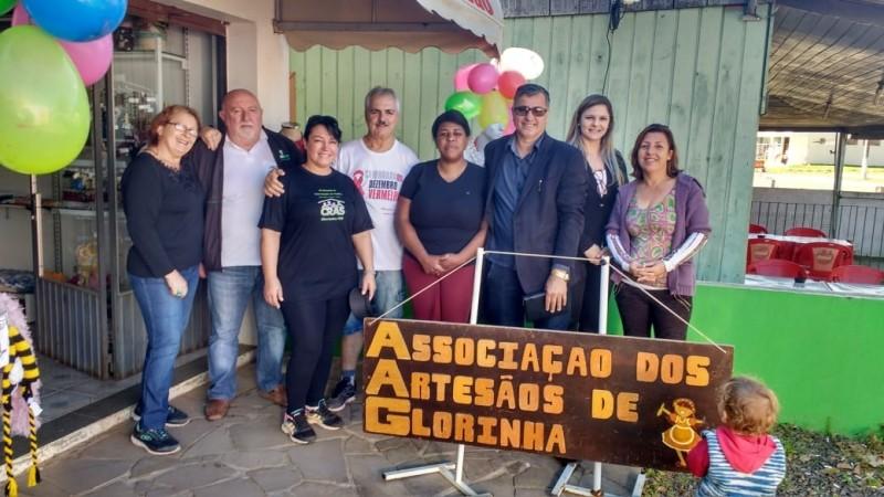 Foto de capa da notícia INAUGURADA A NOVA SEDE DA ASSOCIAÇÃO DOS ARTESÃOS DE GLORINHA