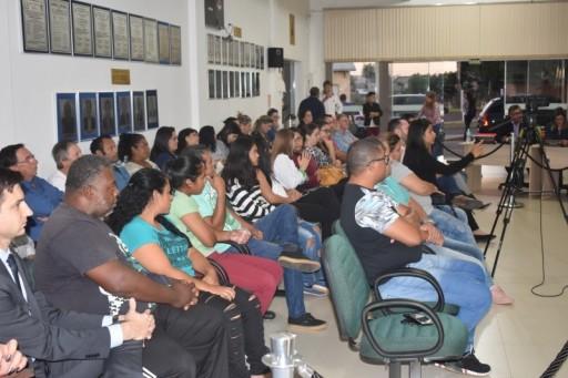 Foto de capa da notícia: SESSÃO SOLENE EM HOMENAGEM AO 31º ANIVERSÁRIO DE GLORINHA