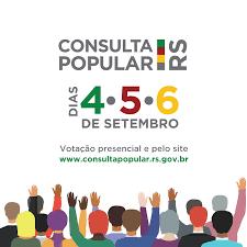 Foto de capa da notícia: Consulta Popular acontece nos dias 4, 5 e 6 de setembro