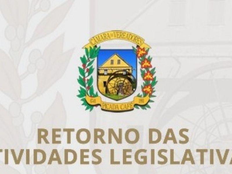 Foto de capa da notícia Vereadores retornam do recesso parlamentar