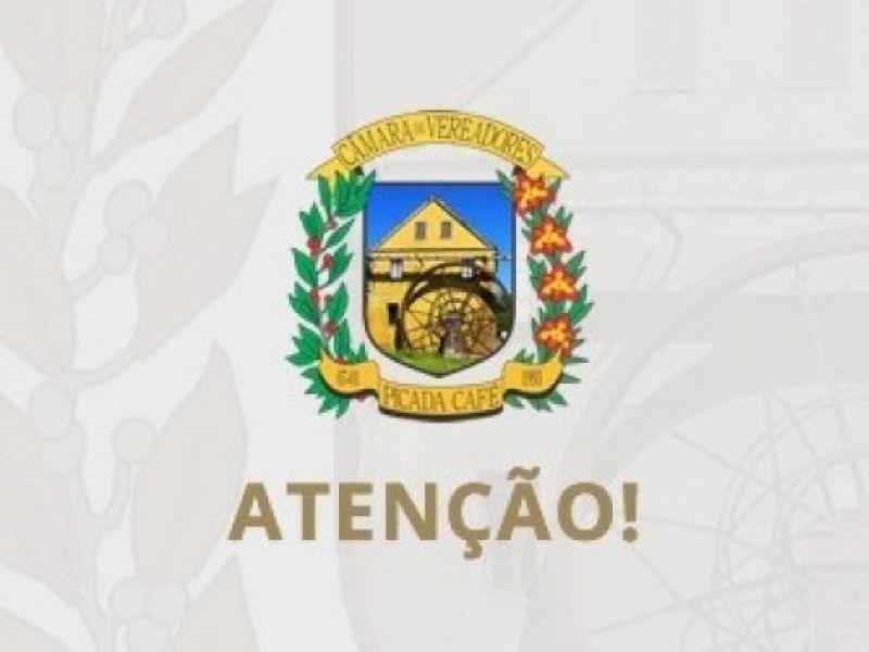 Foto de capa da notícia SESSÃO EXTRAORDINÁRIA