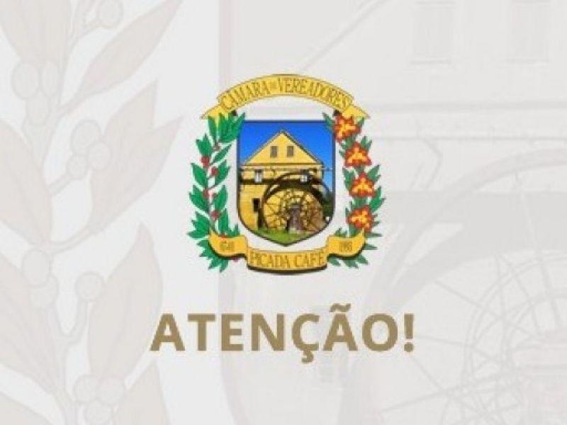 Foto de capa da notícia SESSÃO VOLTA AO HORARIO NORMAL E FERIADO ALTERA  DIA DA SESSÃO DA CÂMARA.