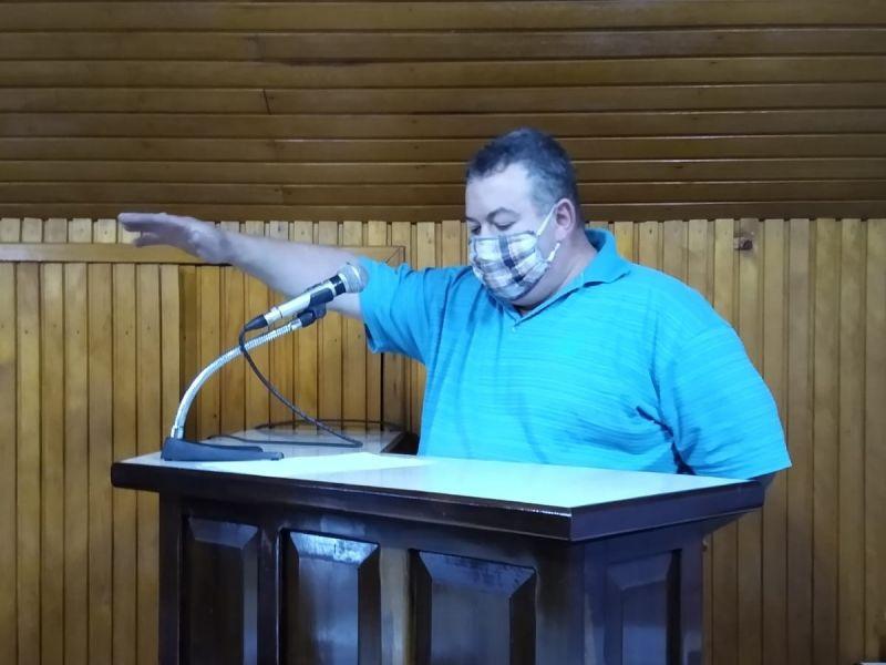 Foto de capa da notícia SUPLENTE JAIR SCHAAB ASSUME CADEIRA NA CASA LEGISLATIVA