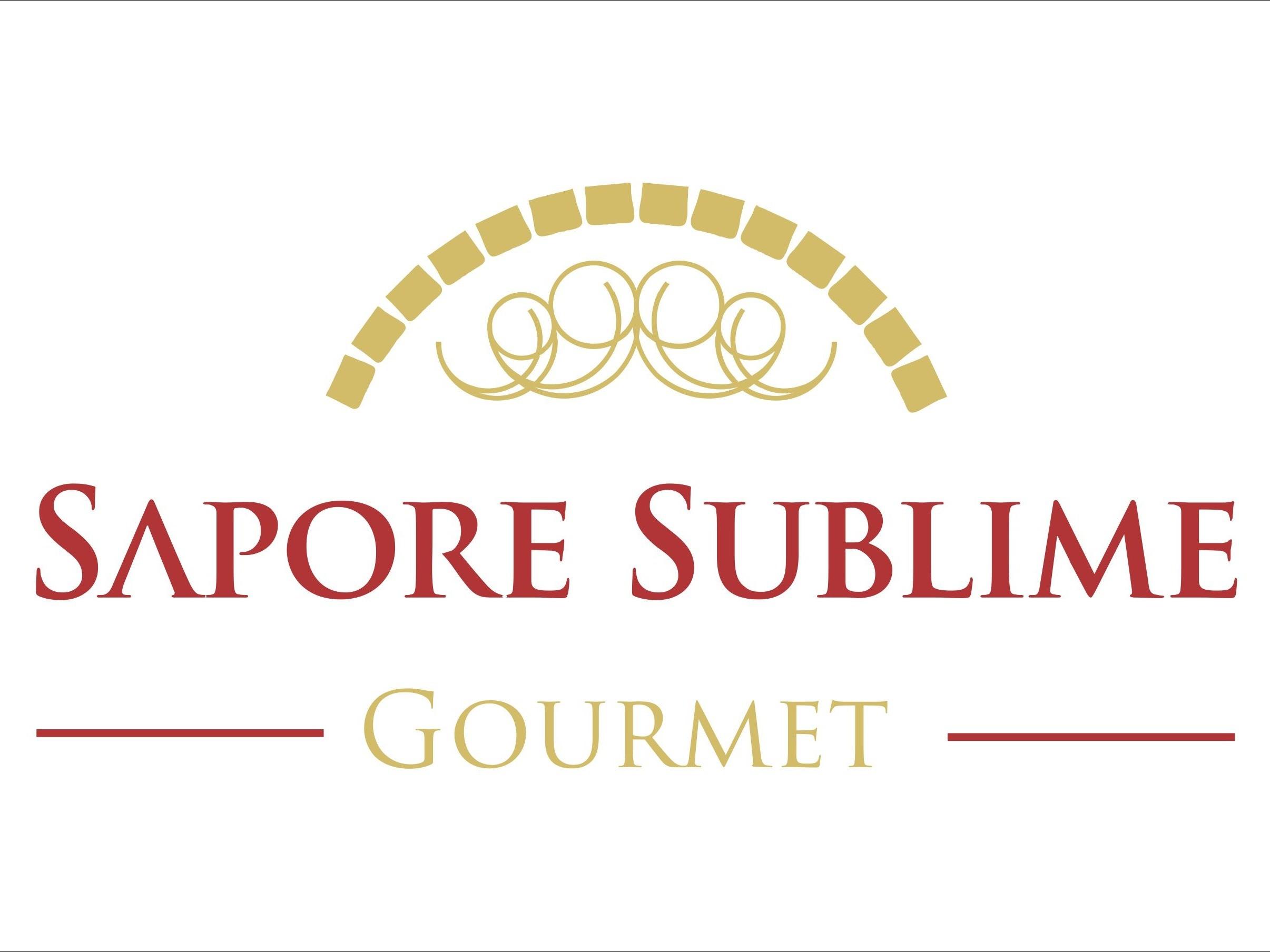 Logotipo Pizzaria Sapore Sublime Gourmet