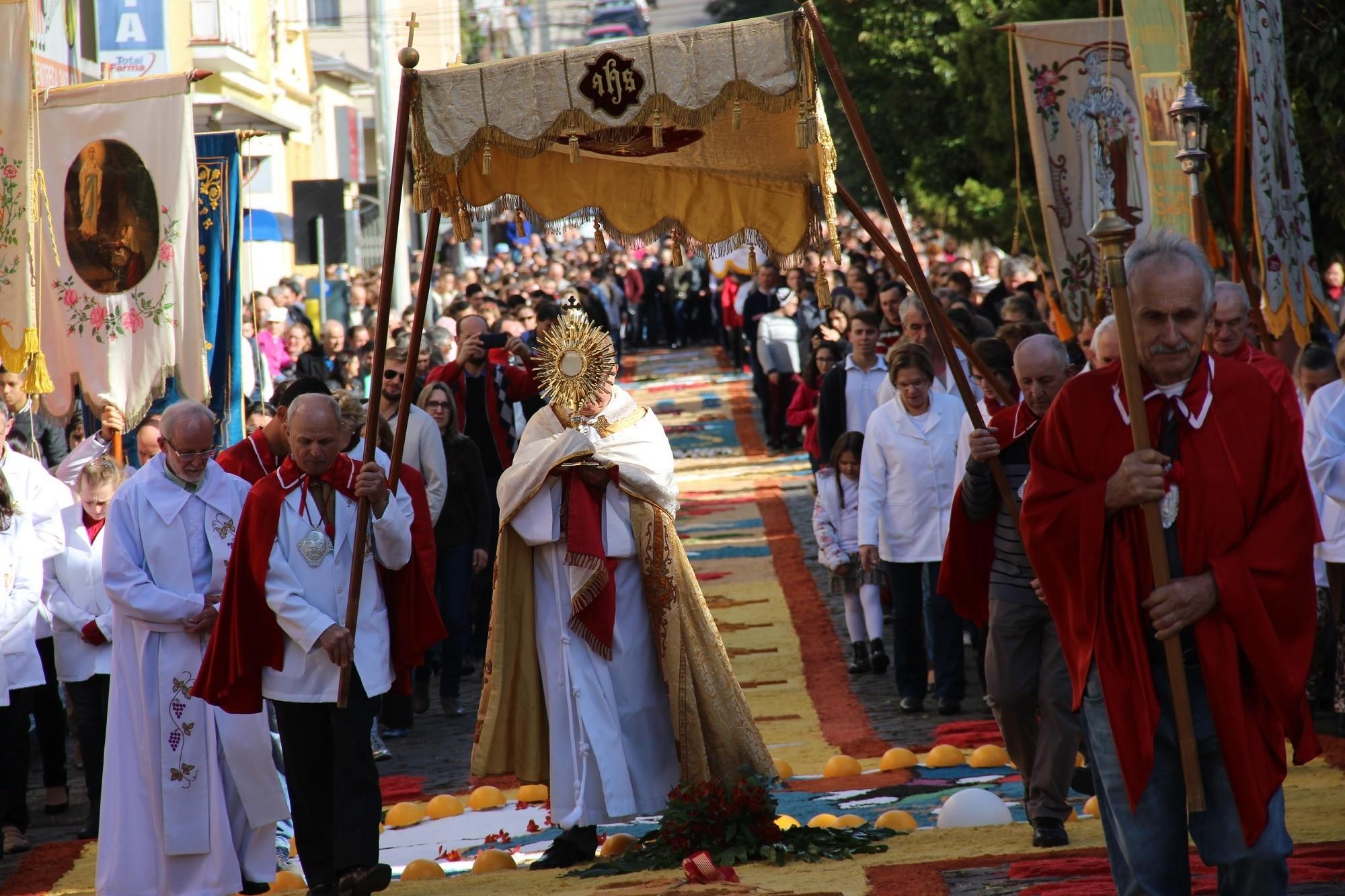 Foto Celebração de Corpus Christi ocorre na próxima semana