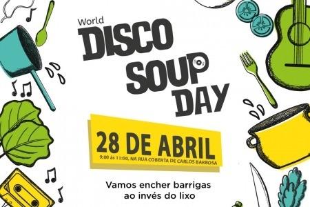 Foto Disco Xepa Day: Slow Food promove ação contra o desperdício de alimentos