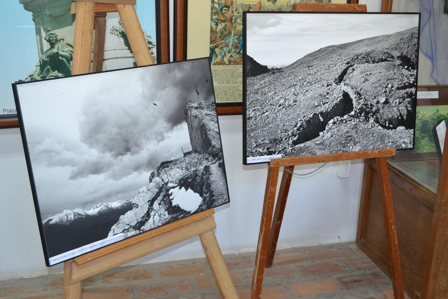"""Foto Exposição fotográfica """"Solo il vento"""" no Museu Municipal"""