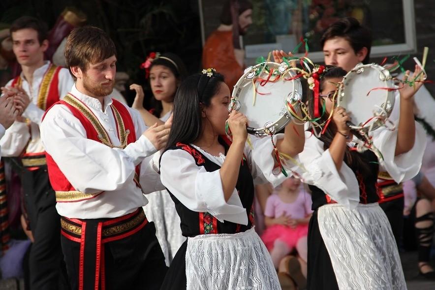 Foto Stella D'Itália participa de Encontro Folclórico em Santa Catarina