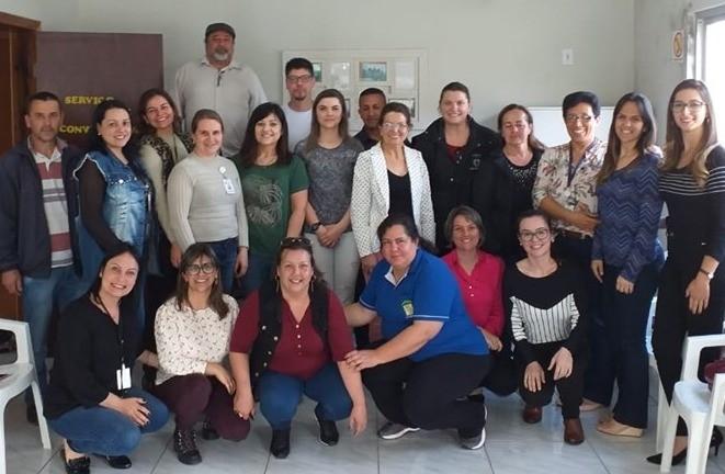 Foto Reunião do COEGEMAS AMUCSER no município de Bom Jesus.