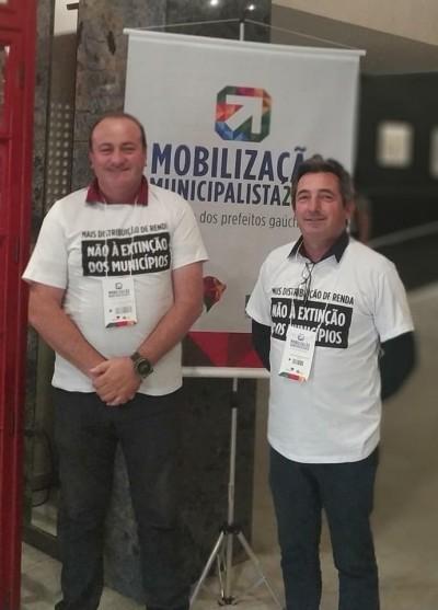 Foto de capa Participação da Associação dos Municípios dos Campos de Cima da Serra - AMUCSER na Mobilização Municipalista 2019.