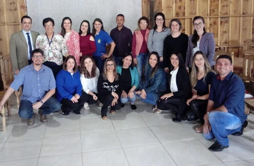 Foto Reunião do Colegiado dos Gestores Municipais de Assistência Social – COEGEMAS da Associação dos Municípios de Cima da Serra – AMUCSER