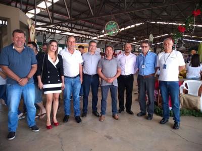 Foto de capa Participação do Presidente da AMUCSER na 17ª Feira de Pequenas Frutas, Artesanato e Mel.