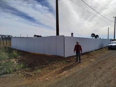 Foto de capa Visita ao terreno onde será construída a Sede da AMUCSER, do CONDESUS e do COREDE.