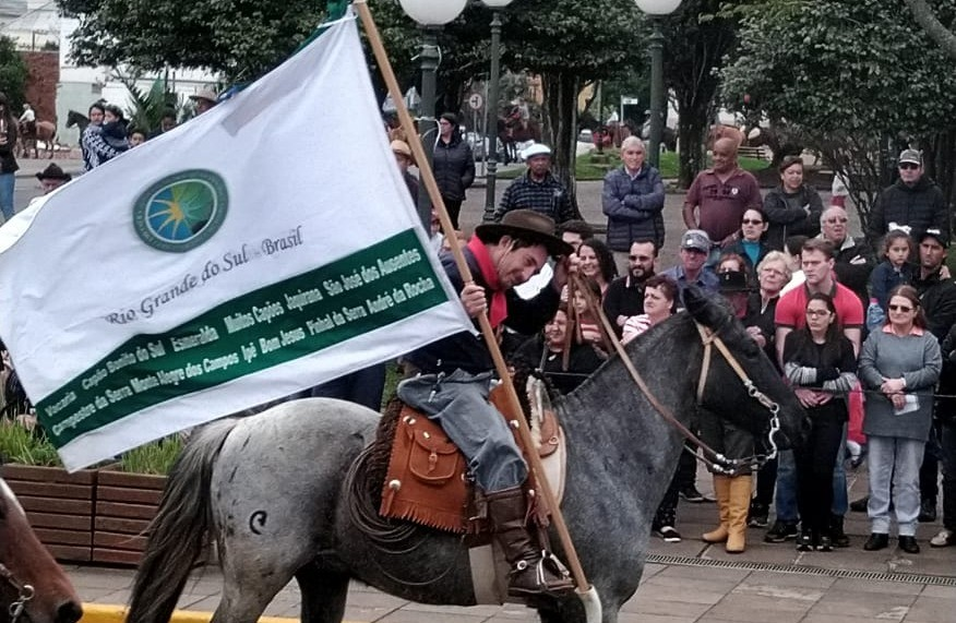 Foto Desfile Farroupilha em Vacaria.