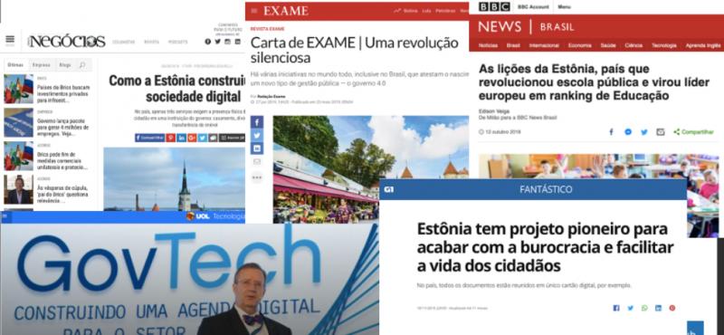 Missão Digital para Estônia