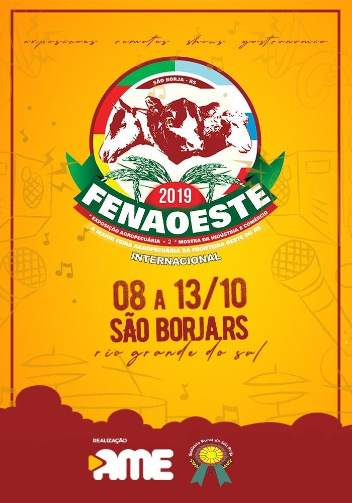 Foto de capa Charolês retorna à Fenaoeste de São Borja (RS) em 2019