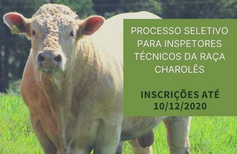 Foto Charolês abre inscrição para processo seletivo de novos inspetores técnicos