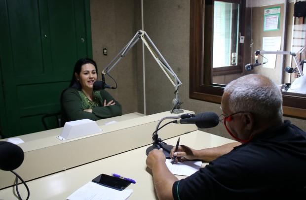 Foto de capa: ENTREVISTA NA RÁDIO ESMERALDA (VACARIA/RS)