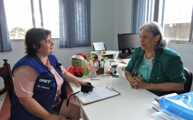 A bióloga Valéria Debom esteve em Bom Jesus no dia 6 conversando com a secretária municipal de Desenvolvimento Econômico, Janete Maria Arcari Becker