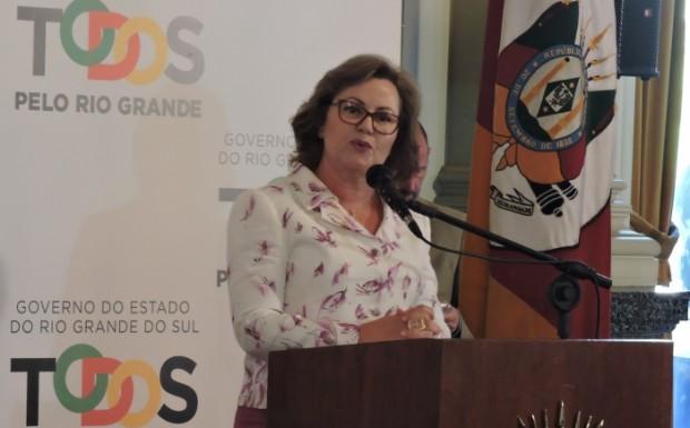 Discurso de posse de Silvana como Governadora do Estado