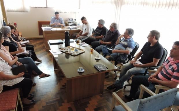 Reunião no Gabinete 1 - Foto Duclerc Silva