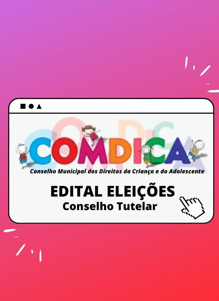 Banner 3 - Eleições Conselho Tutelar