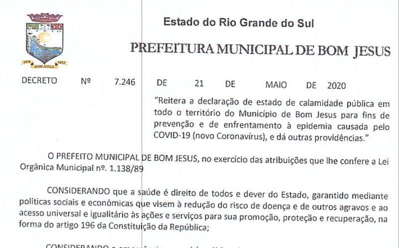 Foto de capa da notícia Novo Decreto enrijece medidas de enfrentamento ao coronavírus