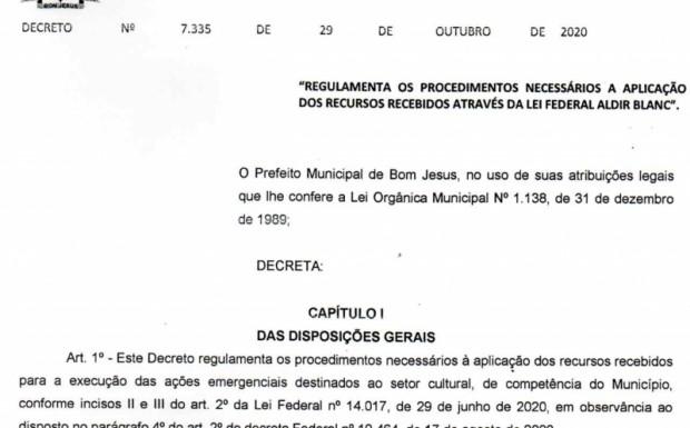 Foto de capa da notícia: Prefeitura regulamentou aplicação dos recursos da Lei de Emergência Cultural Aldir Blanc