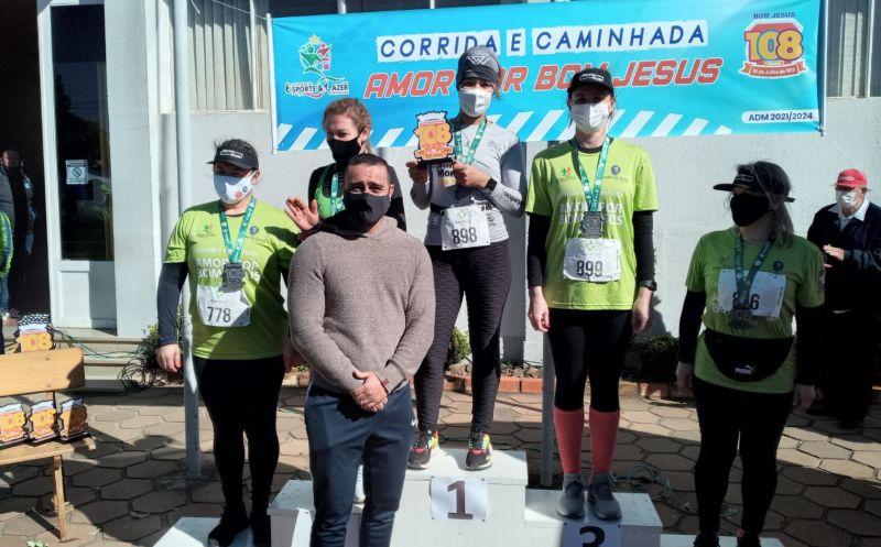 Foto de capa da notícia Confira os vencedores da   Corrida e Caminhada Amor por Bom Jesus