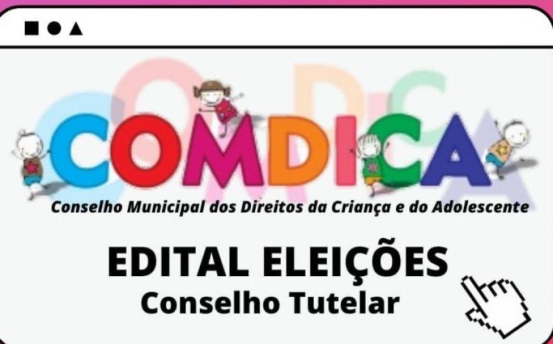 Foto de capa da notícia Publicado edital com os nomes dos que requisitaram inscrições para eleição do Conselho Tutelar