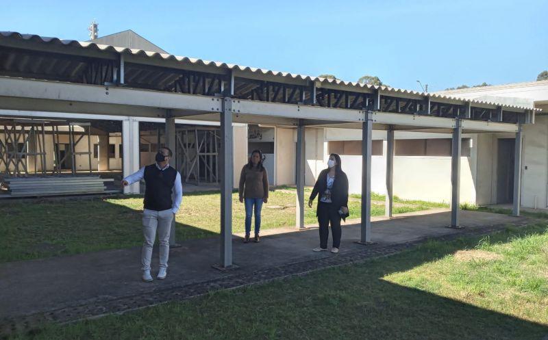 Foto de capa da notícia Lançado edital para a retomada das obras em escola de educação infantil no bairro Vila Spinelli