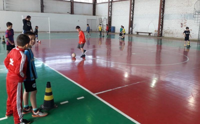 Foto de capa da notícia Projeto Atletas do Futuro da Secretaria de Esporte e Lazer  já chega a 400 inscritos